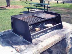 BBQ park furniture